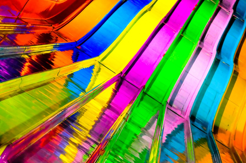 A piece of fine art art photography titled Colour Slide by Kevin Ng