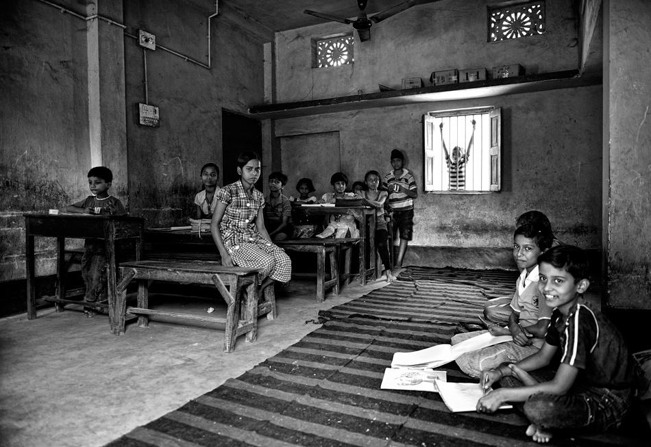 A piece of fine art art photography titled The Classroom by Robert