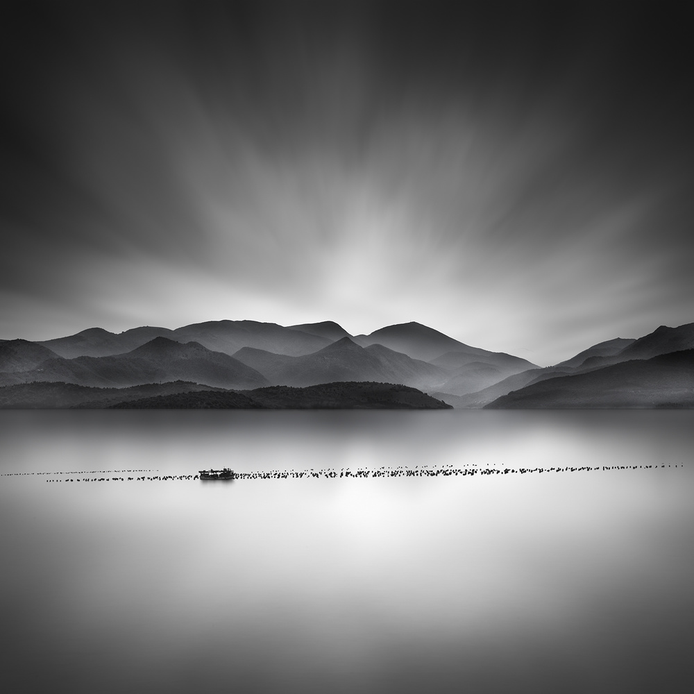 A piece of fine art art photography titled Dreamboat by George Digalakis