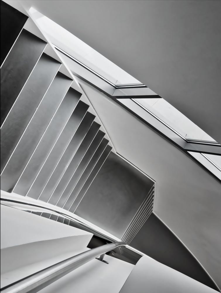 A piece of fine art art photography titled Staircase by Henk van Maastricht