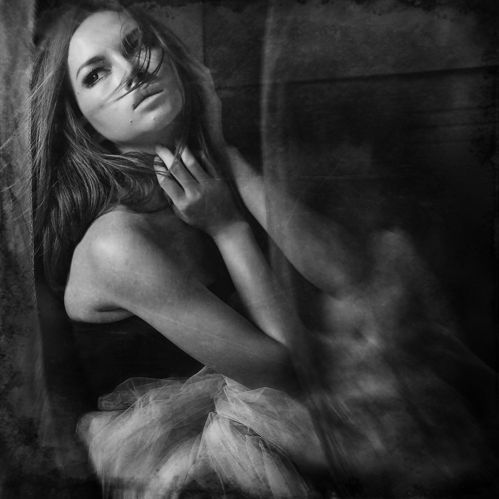 A piece of fine art art photography titled Muse by Ericks
