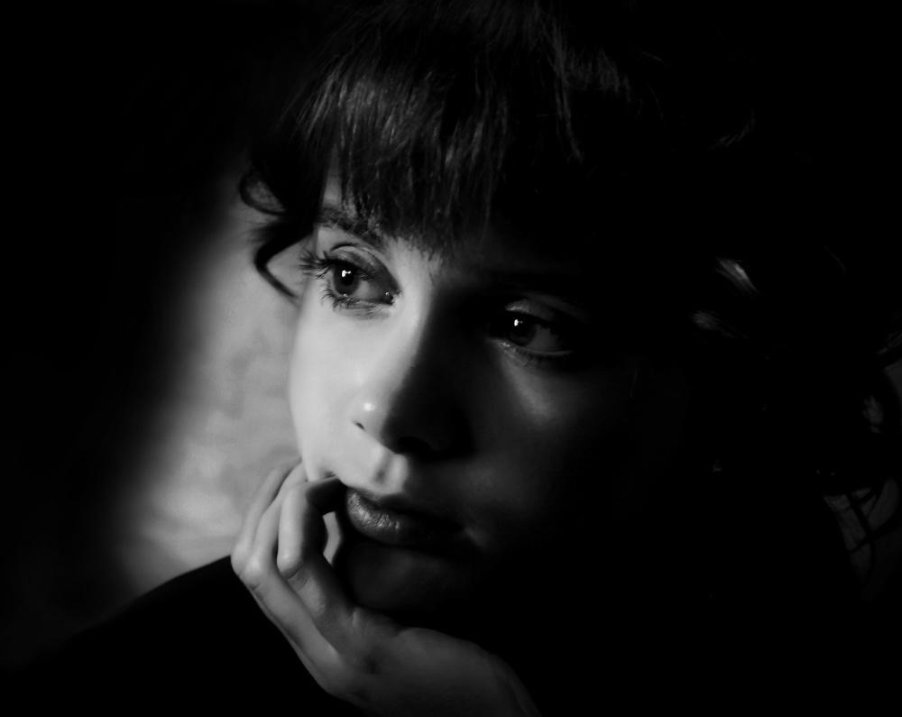 A piece of fine art art photography titled Portrait by Vladimir Konkin