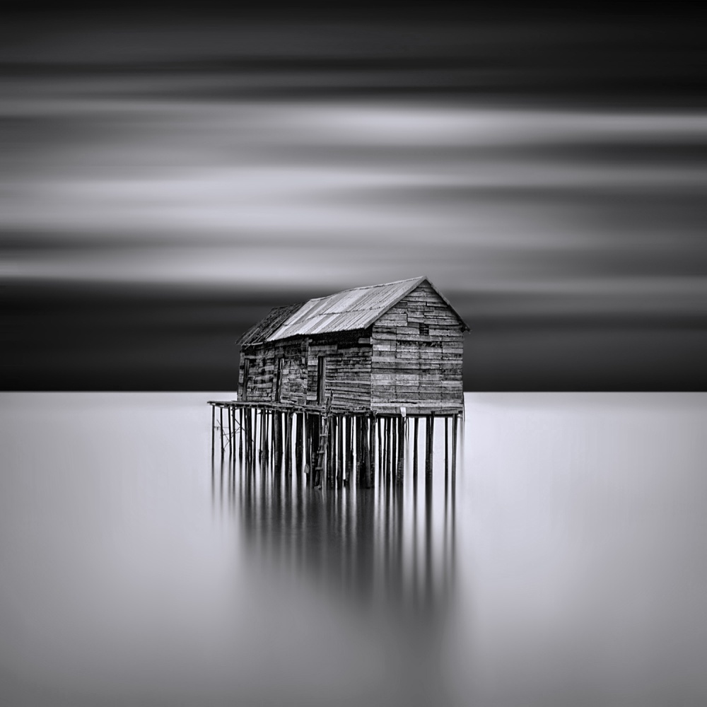 A piece of fine art art photography titled Home Sweet Home by Nopel Opzan
