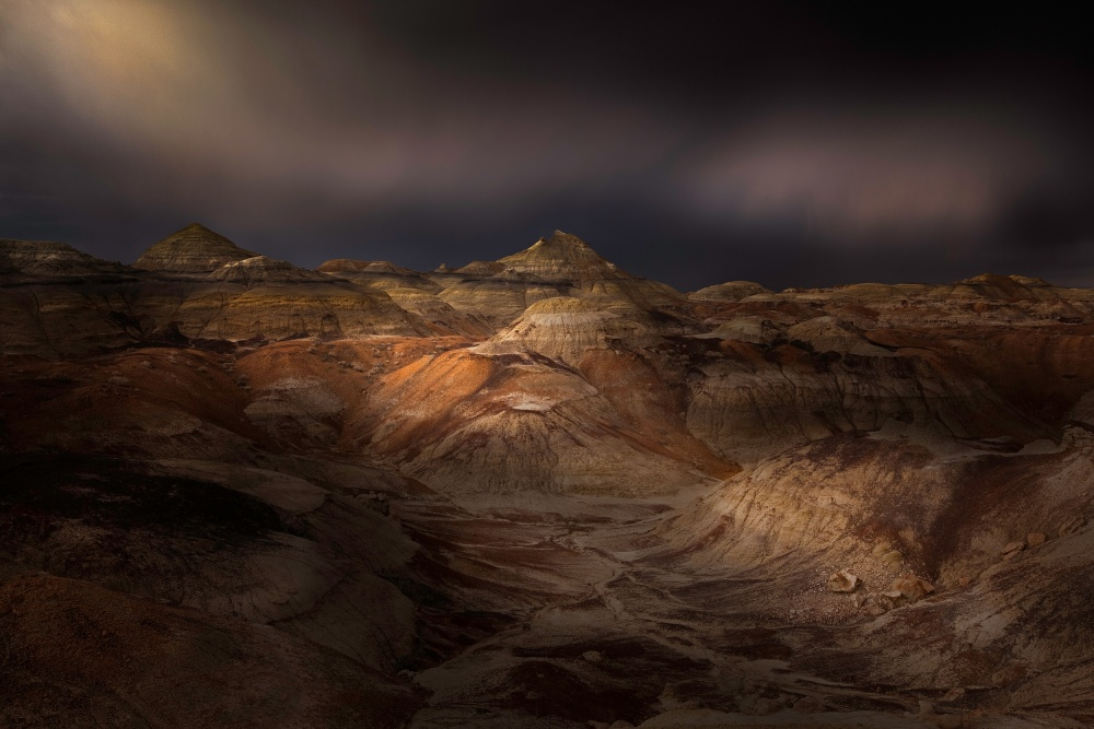 A piece of fine art art photography titled Aurora Mineralis by samuel FERON
