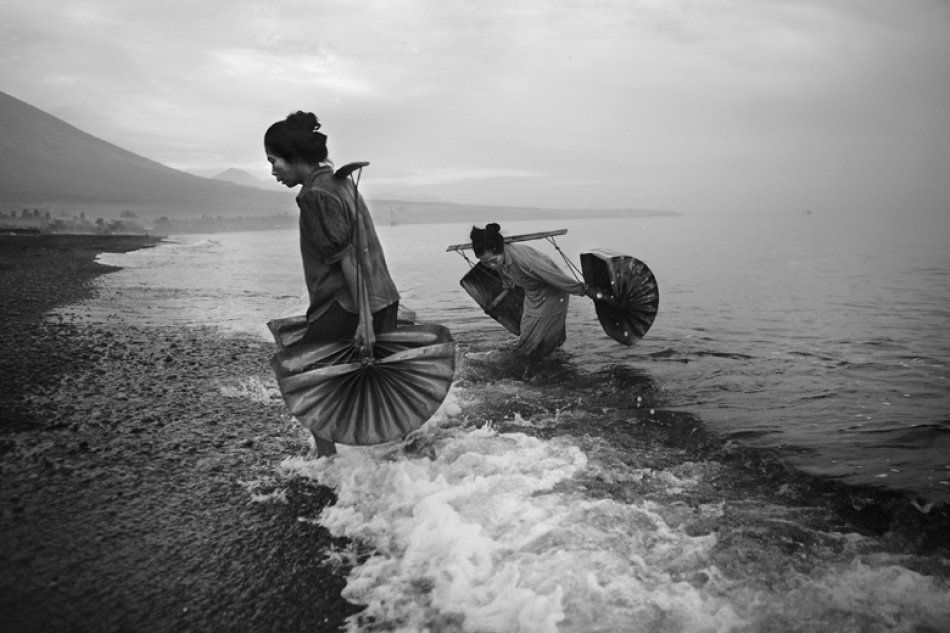 A piece of fine art art photography titled Salt-makers by Mitchell Kanashkevich