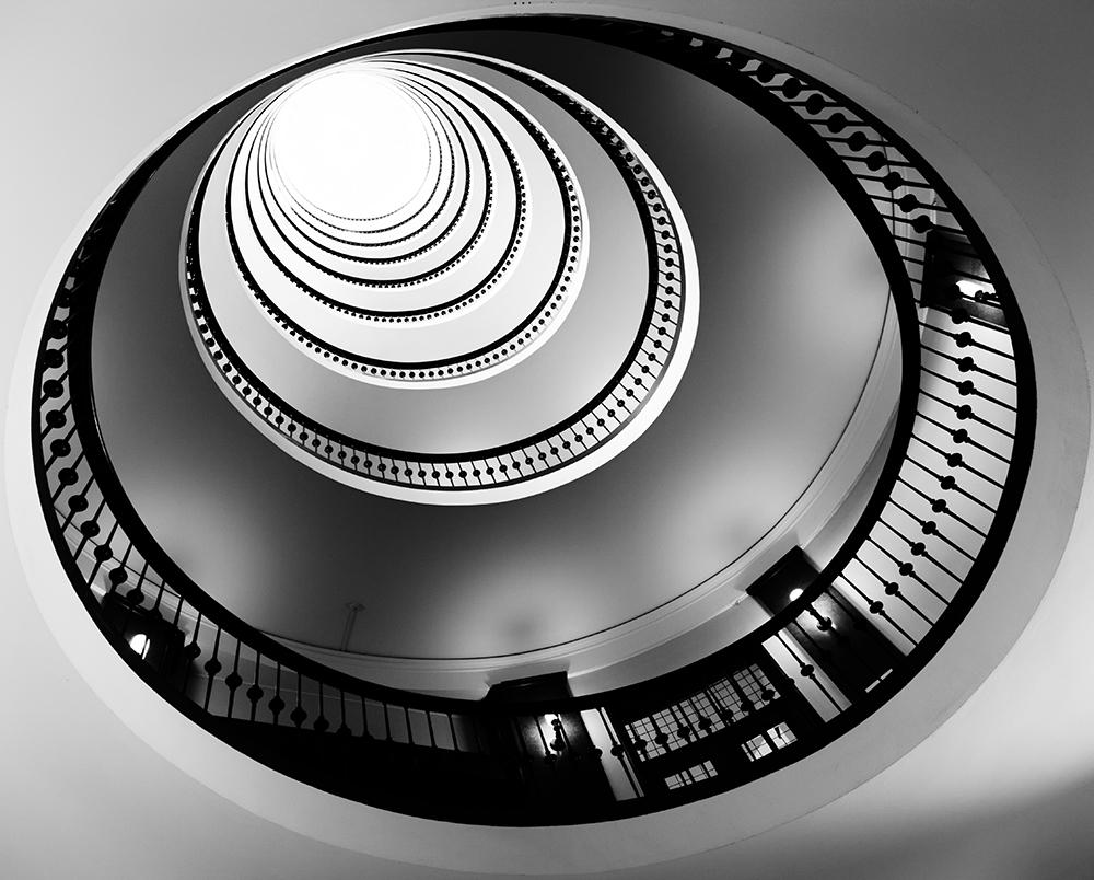 A piece of fine art art photography titled Balconies 10 by Casper Wilkens