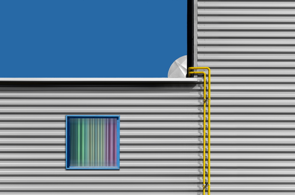 A piece of fine art art photography titled Urban Lines by Alfonso Novillo