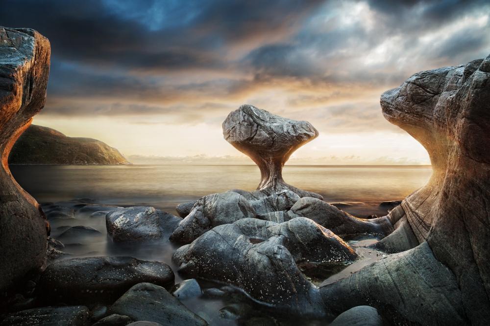 A piece of fine art art photography titled Kannensteinen by Marzena Wieczorek