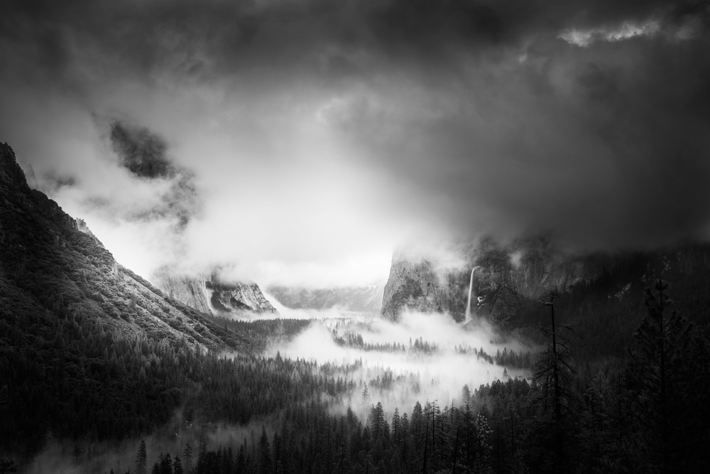 A piece of fine art art photography titled Storm Clearing by weilian