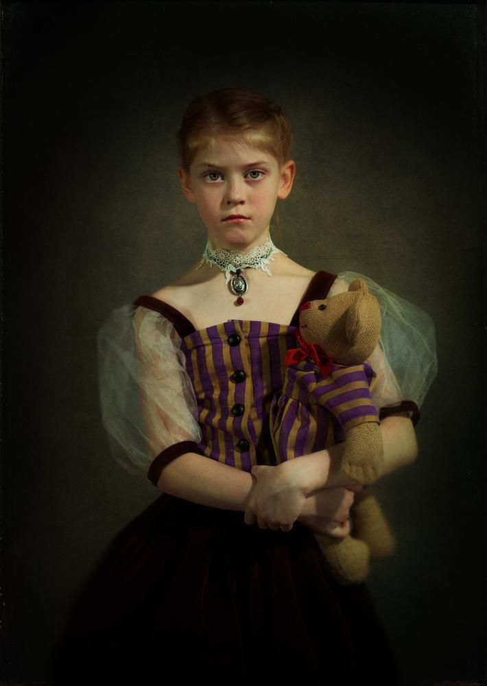 A piece of fine art art photography titled Arisha by Svetlana Melik-Nubarova