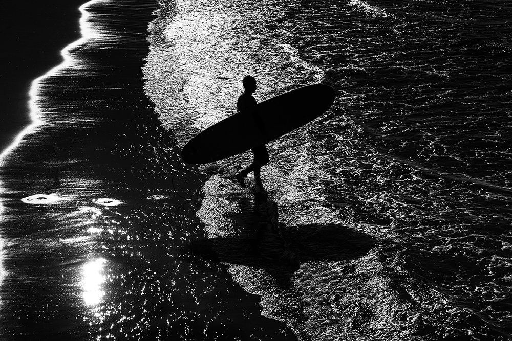 A piece of fine art art photography titled Surf 7 by Massimo Della Latta