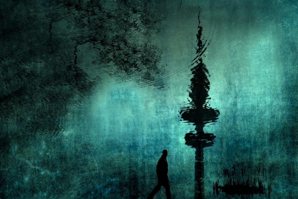 A piece of fine art art photography titled Metropolis by Anja Buehrer