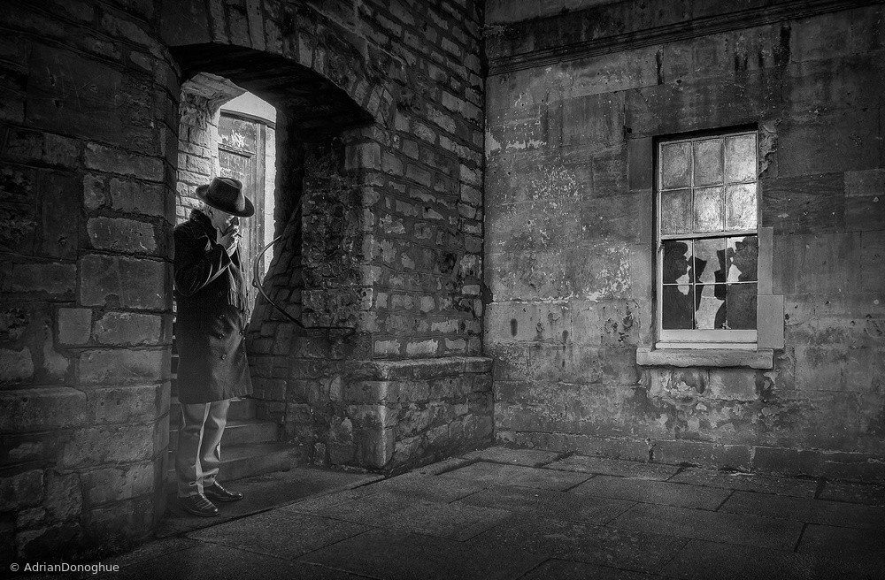 View this piece of fine art photography titled In lonely cities live lonely men 3 by Adrian Donoghue