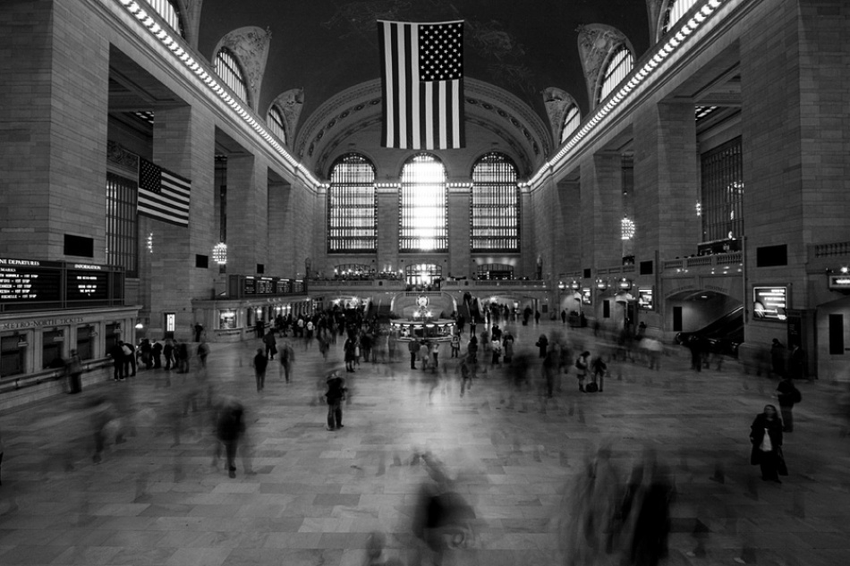 A piece of fine art art photography titled Grand Central by Heath Carney