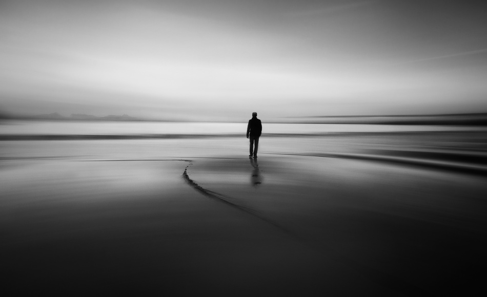 A piece of fine art art photography titled Walking to Nowhere by Santiago Pascual Buye