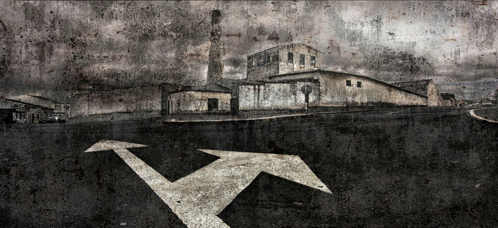 A piece of fine art art photography titled The Old Factory by ANTONIO SORIANO LLAMAZARES