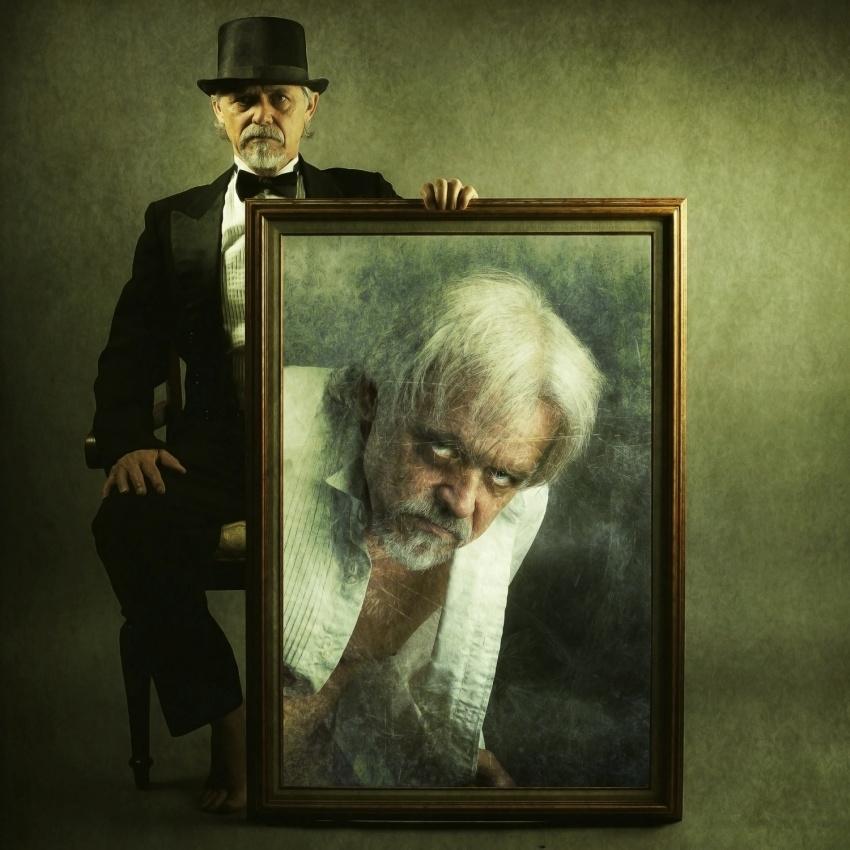 A piece of fine art art photography titled The Strange Self Portrait of Dr Henry Jekyll by Michael Bilotta