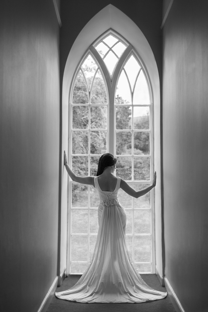 A piece of fine art art photography titled Elegance by Ashley Ide