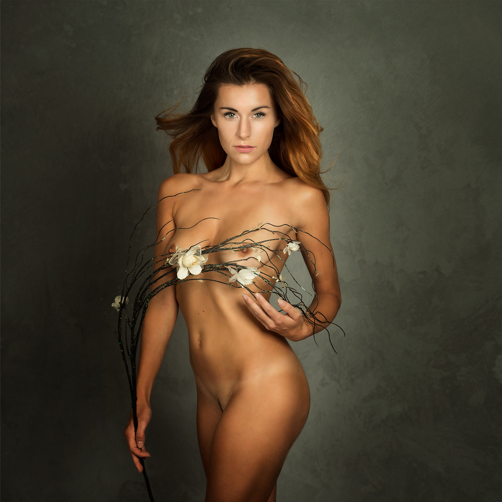 A piece of fine art art photography titled Izabella by Mike Darzi