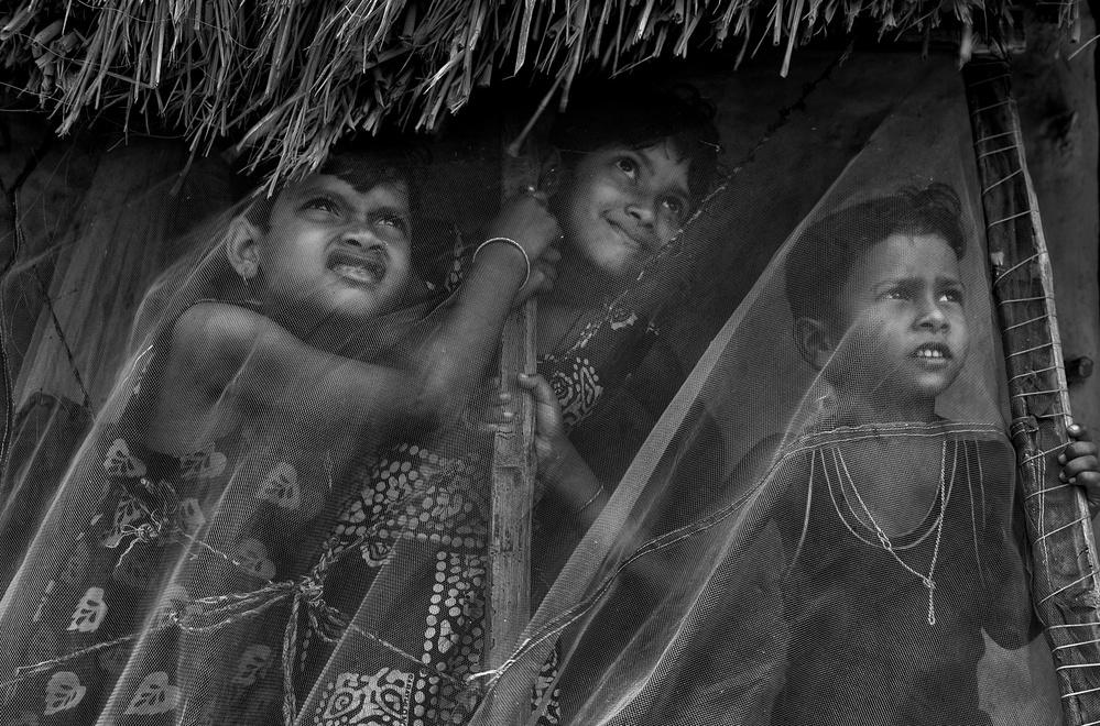A piece of fine art art photography titled Dreamy Eyes by Avishek Das