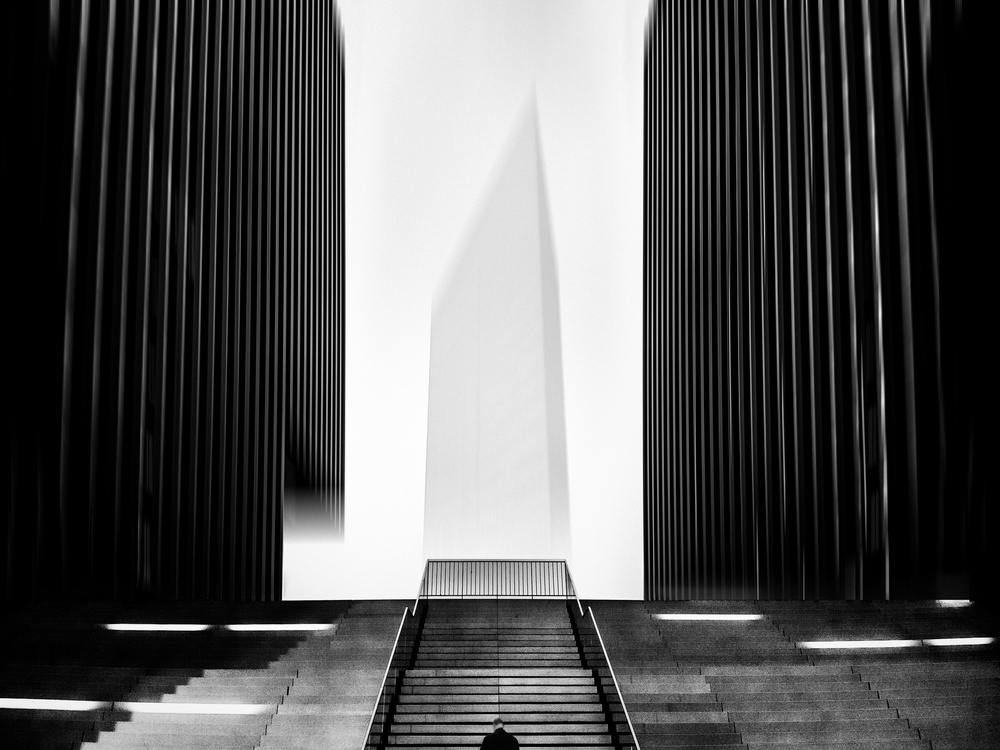 View this piece of fine art photography titled Delusive Corridor by Adam Weh