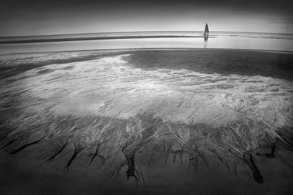 A piece of fine art art photography titled On the Earth and the Sea by Ekkachai Khemkum