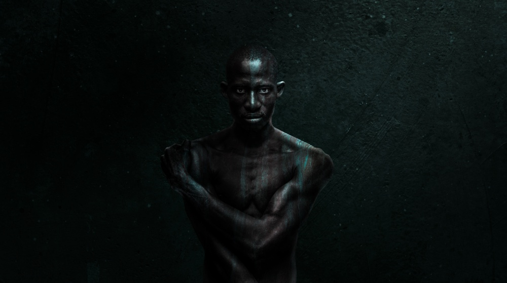 A piece of fine art art photography titled More Than Black by Patrick Odorizzi