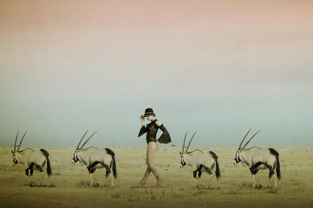 A piece of fine art art photography titled Africa IV by Christine von Diepenbroek