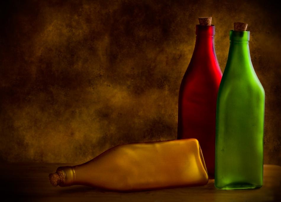 A piece of fine art art photography titled Fallen by S A Bates