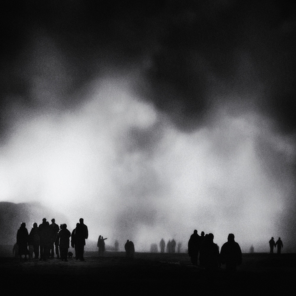 A piece of fine art art photography titled The Cloud Mystery by Piet Flour