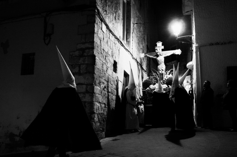 A piece of fine art art photography titled Easter Procession by Diana Bodea
