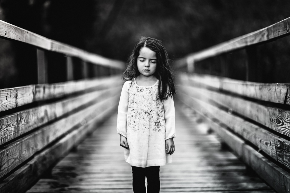 A piece of fine art art photography titled The Bridge by portraitsbysam
