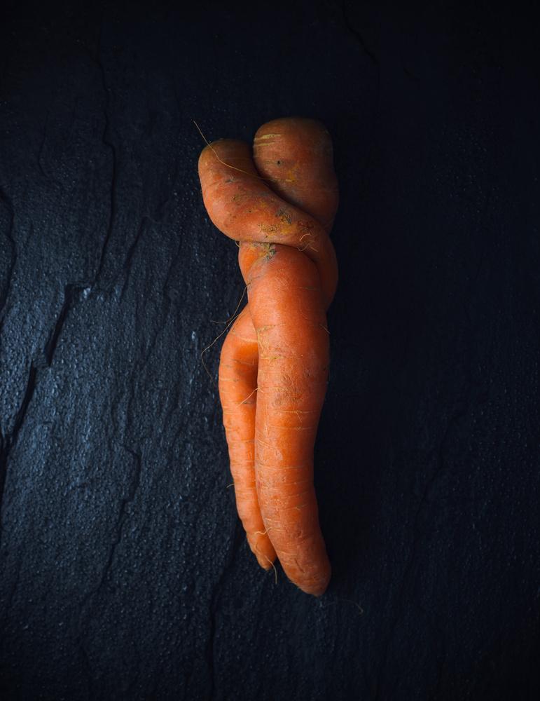 A piece of fine art art photography titled Organic Love Story by Aleksandrova Karina