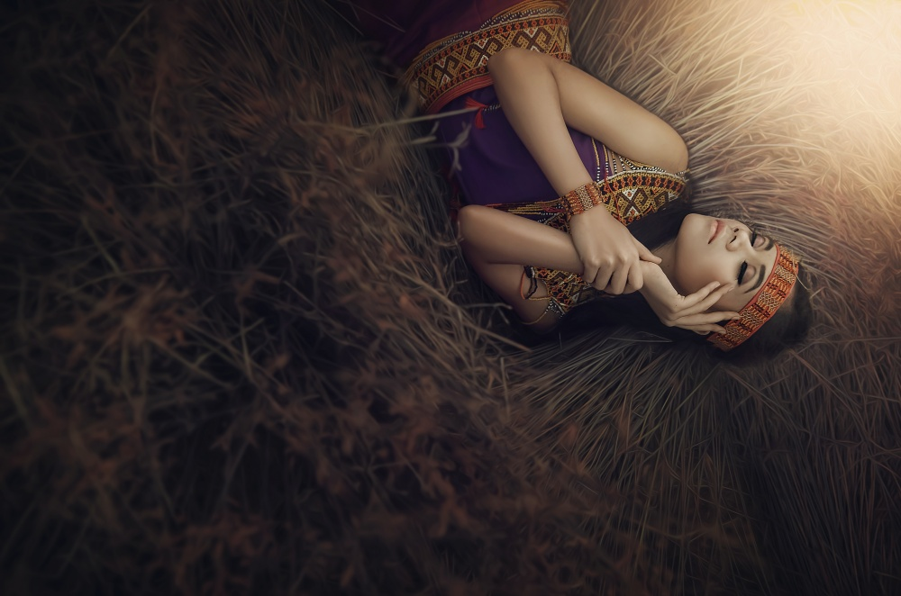 A piece of fine art art photography titled Thinking of You by afiez appleproject