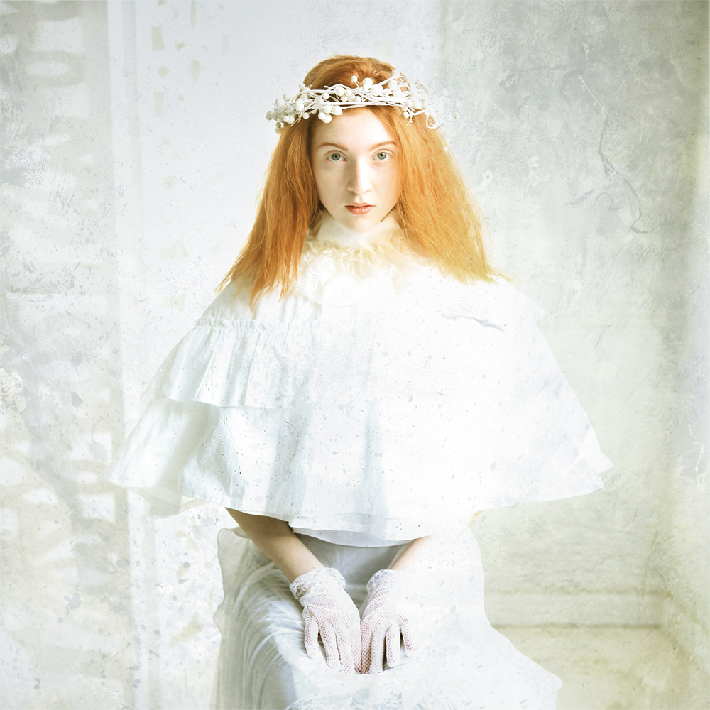 A piece of fine art art photography titled White by Katerina Lomonosov
