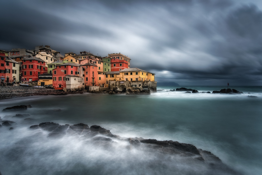 A piece of fine art art photography titled Icon of Liguria by Matteo Musetti