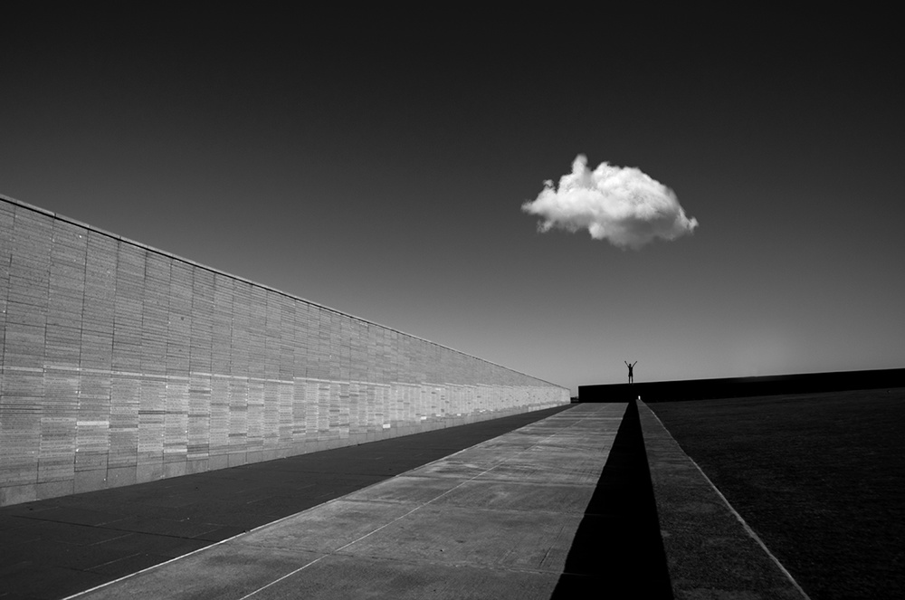 View this piece of fine art photography titled My friend...the cloud by Erik Schottstaedt