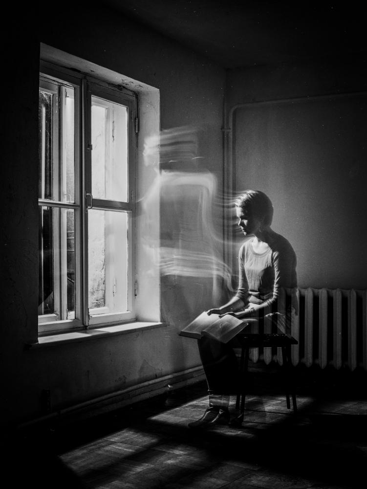 A piece of fine art art photography titled Skripka by Sergei Smirnov