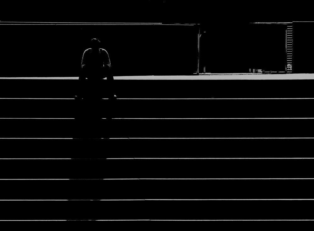 A piece of fine art art photography titled Light and Shadows by Jian Wang