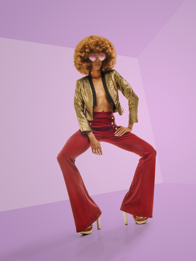 A piece of fine art art photography titled Disco Glamour #3 by Jackson Carvalho
