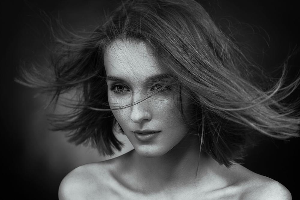A piece of fine art art photography titled Anna by Vitaliy Reznichenko