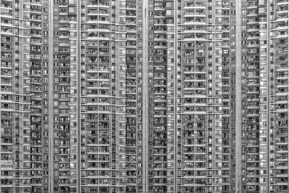 A piece of fine art art photography titled Life of Big City by Ben Tam