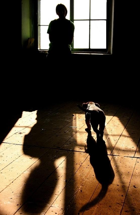 A piece of fine art art photography titled DogAna by Rudi Kokic