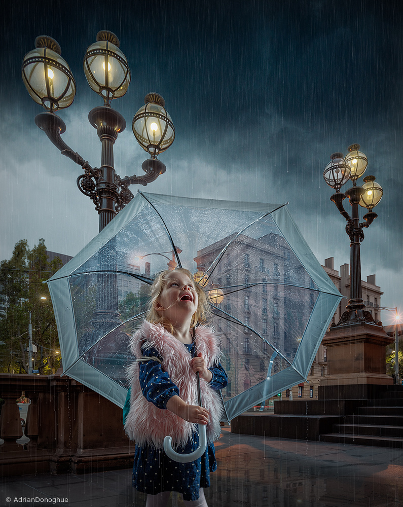 View this piece of fine art photography titled When the rain comes by Hans-Wolfgang Hawerkamp