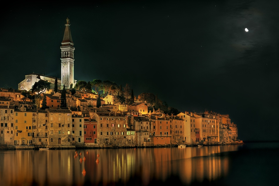 A piece of fine art art photography titled Rovinj by Harald Bildner