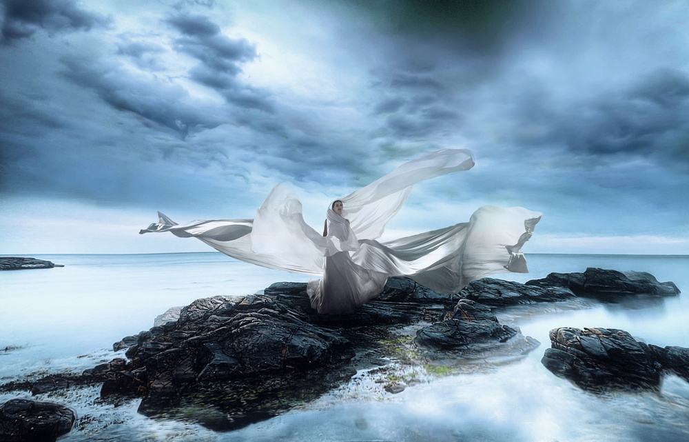 A piece of fine art art photography titled Muse by Аntonik