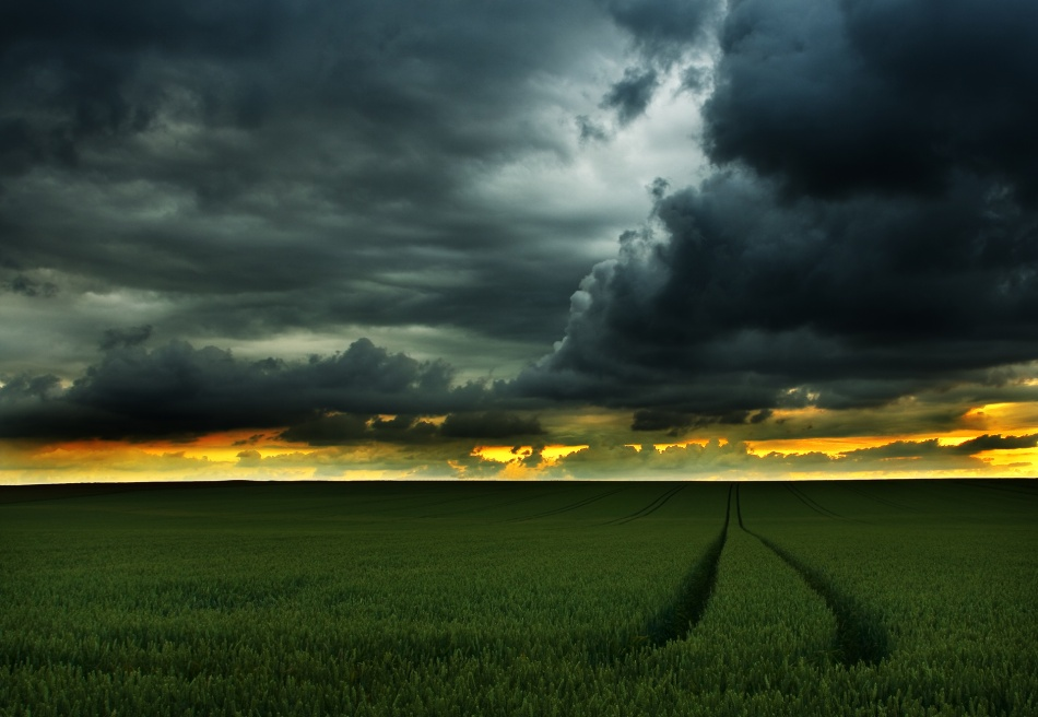 A piece of fine art art photography titled Return of the Light by Niels Christian Wulff