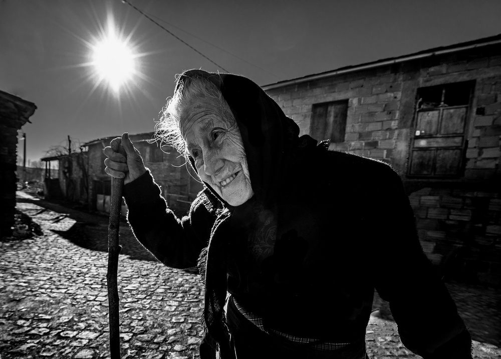View this piece of fine art photography titled Granny Ana Maria by Vladimir Konkin