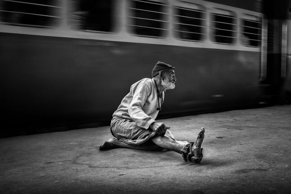 A piece of fine art art photography titled Varanasi by Tashi_Delek Nakata