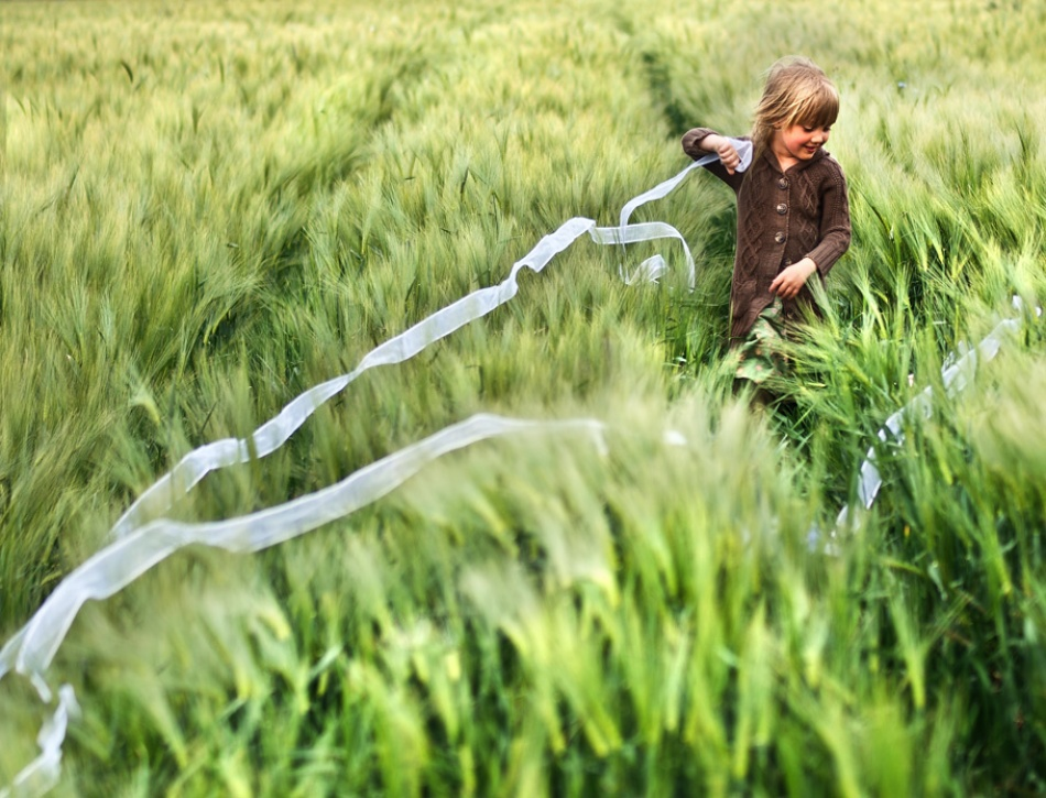 A piece of fine art art photography titled Miss Velvetgrass by acrux/Kowalkowski Rafal